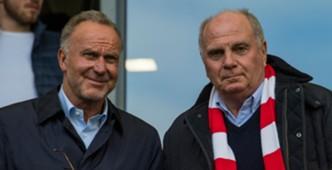 Uli Hoeness Karl Heinz Rummenigge Bayern Munchen