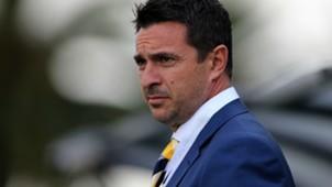 Paul Okon Central Coast Mariners v Brisbane Roar A-League 22102016