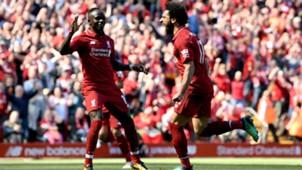 Sadio Mane Mo Salah FC Liverpool 130518