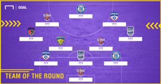 ISL 2017-18 Team of the Round 8