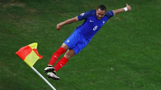 Dimitri Payet France Albania UEFA Euro 2016 15062016