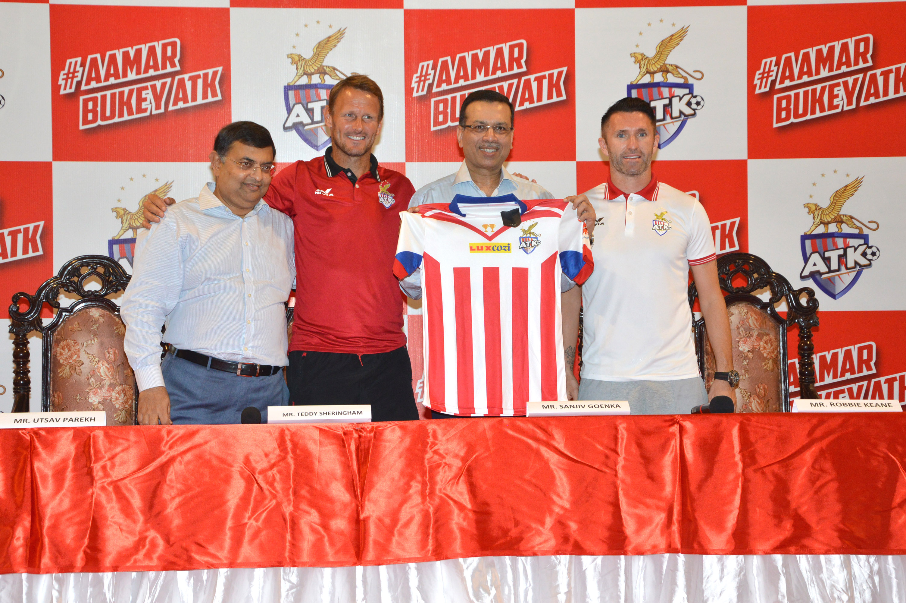 ISL 2017: Defending champions ATK unveil new jersey for upcoming season