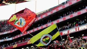 Benfica Fenerbahce fans 2013