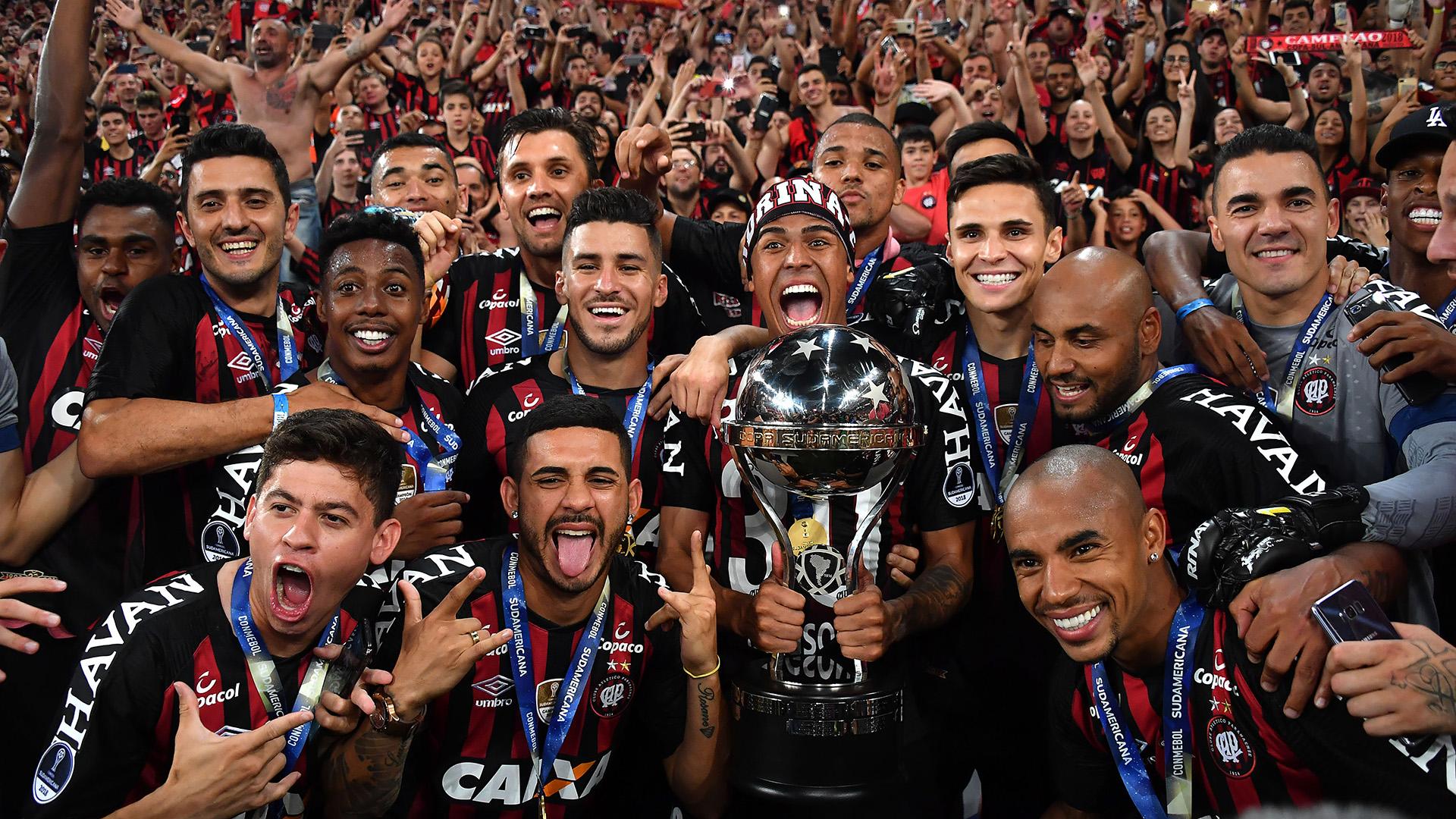Atlético-PR campeão Copa Sudamericana 12122018