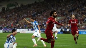 Salah Liverpool Huddersfield