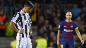 Paulo Dybala Barcelona Juventus Champions League