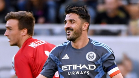 David Villa New York City FC 2018