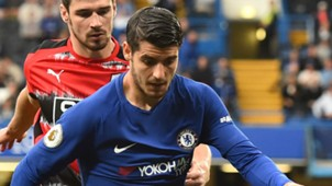 Alvaro Morata Chelsea 2017-18