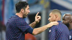 Gianluigi Buffon Kylian Mbappe PSG