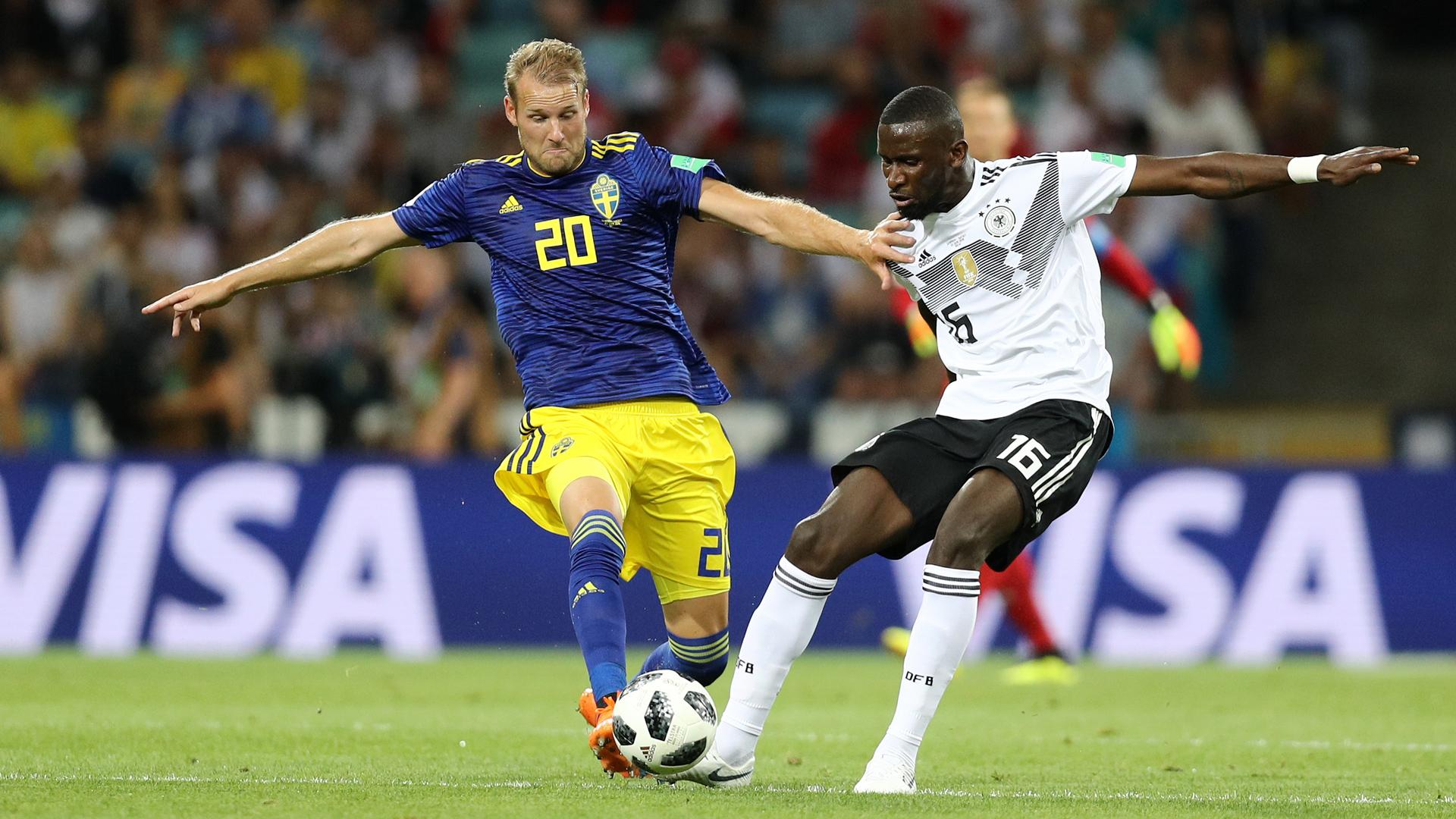 Germany Sweden Antonio Rüdiger