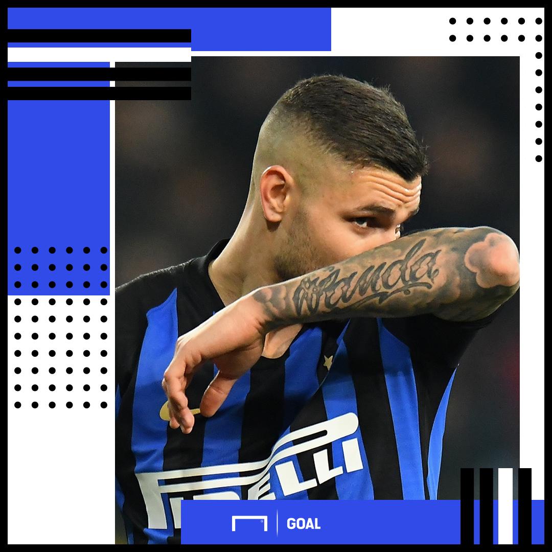 Mauro Icardi Wanda Inter PS