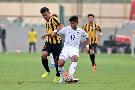 Malaysia U22, Thailand U23, Dubai Cup 2017