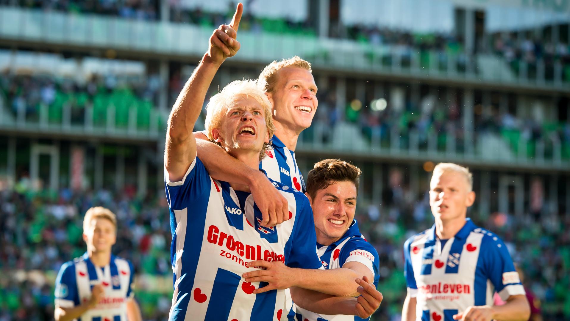 Morten Thorsby, sc Heerenveen, Eredivisie 08132017