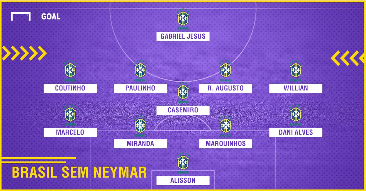 PS Brasil sem Neymar