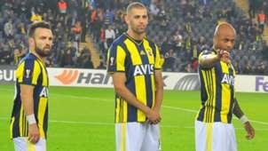 Mathieu Valbuena Islam Slimani Andre Ayew