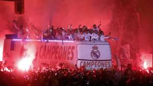 Celebración Real Madrid LaLiga 2017