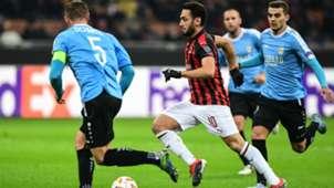 Hakan Calhanoglu Milan Dudelange Europa League