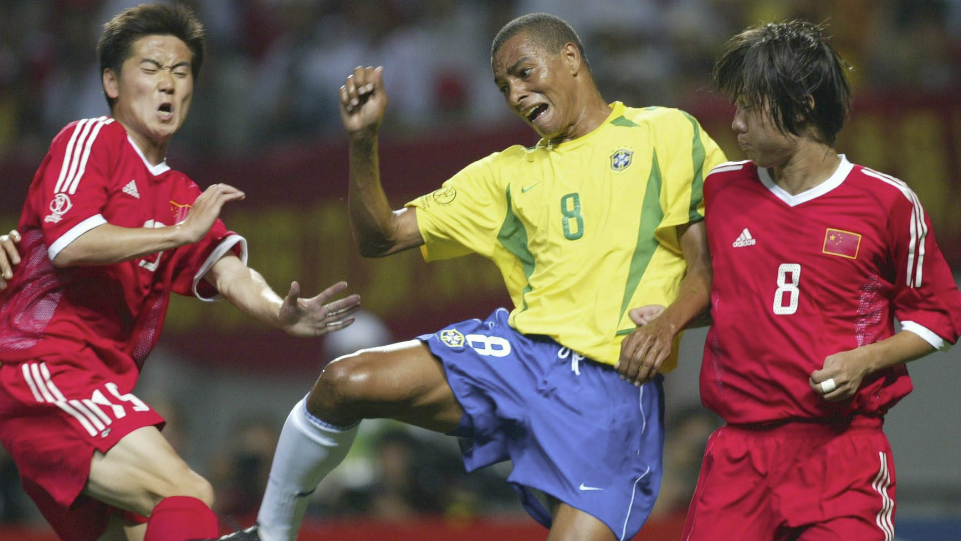 Gilberto Silva Brazil 2002