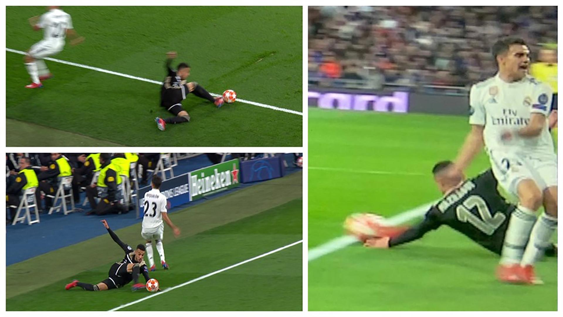 Real Madrid Ajax VAR