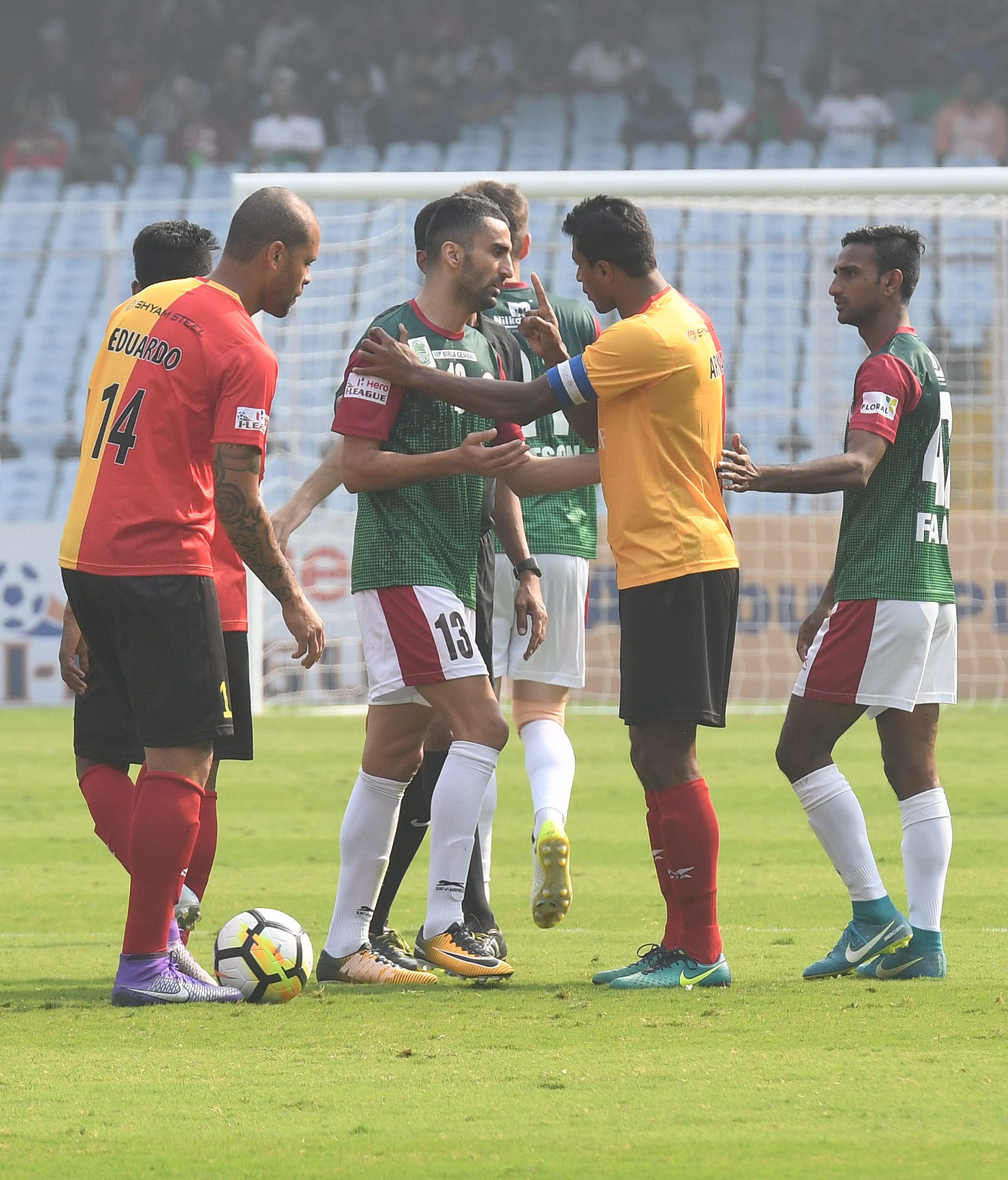 East Bengal Mohun Bagan 2017-18 I-League Kolkata Derby