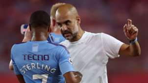 Raheem Sterling Pep Guardiola Manchester City pre-season 2019