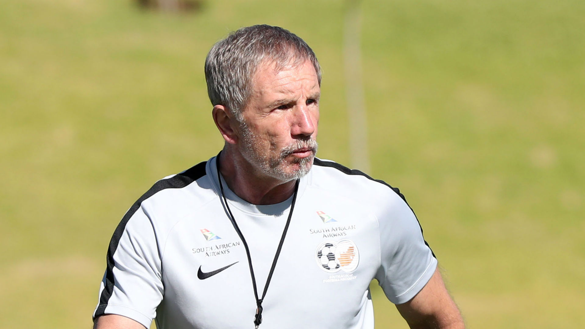 South Africa head coach Stuart Baxter June 18