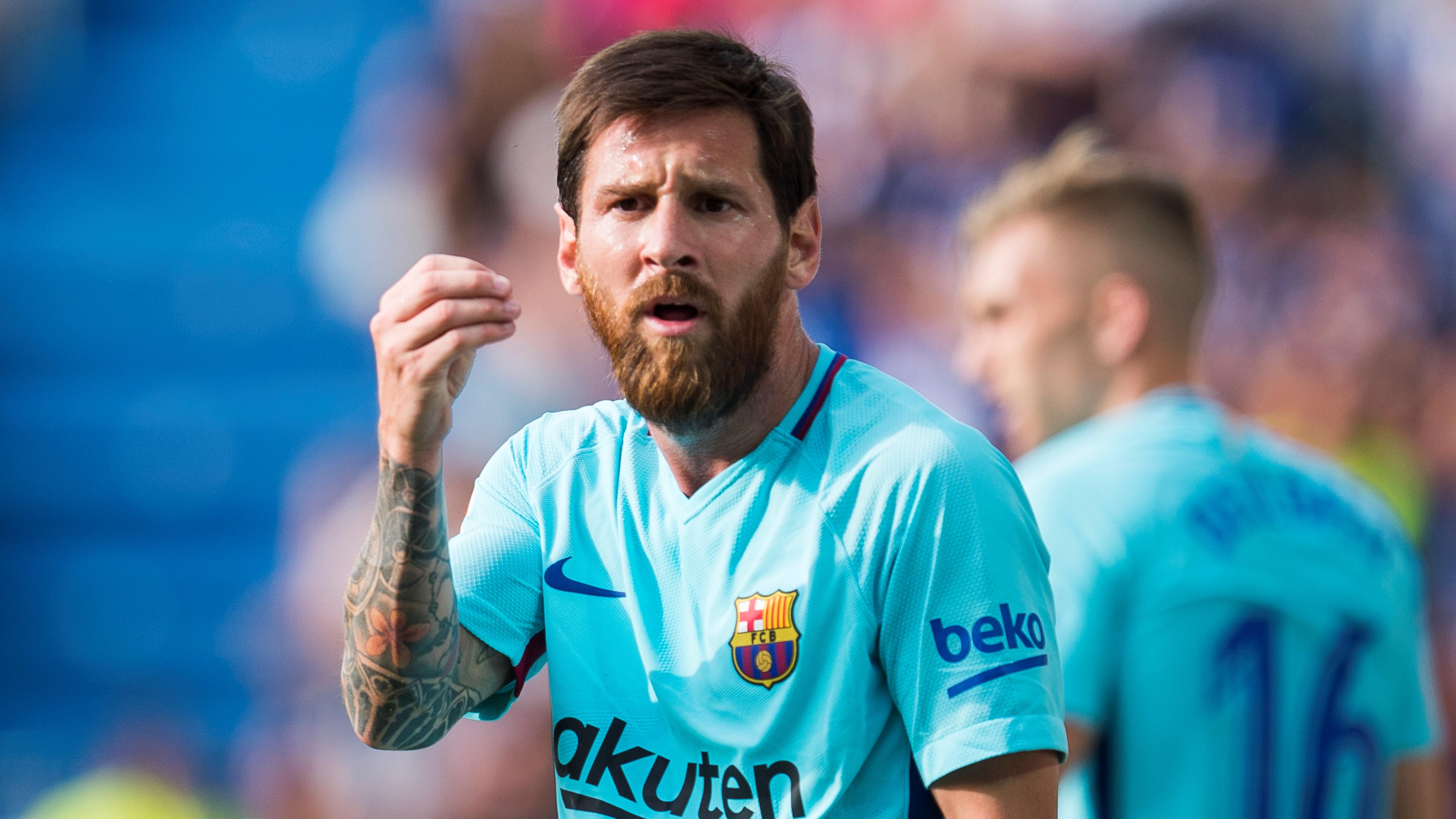 Lionel Messi Alavés Barcelona LaLiga 26082017