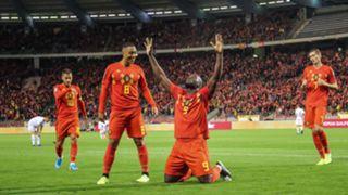 Romelu Lukaku Belgium 2019