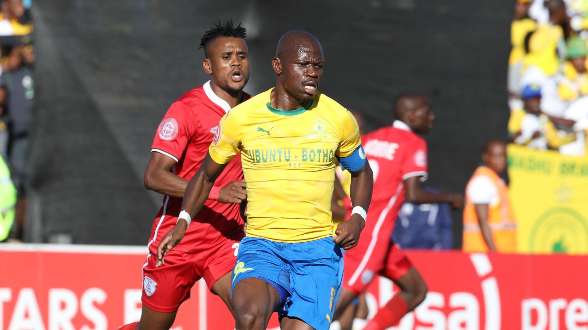 Harris Tchilimbou, Free State Stars & Hlompho Kekana, Sundowns, May 2019