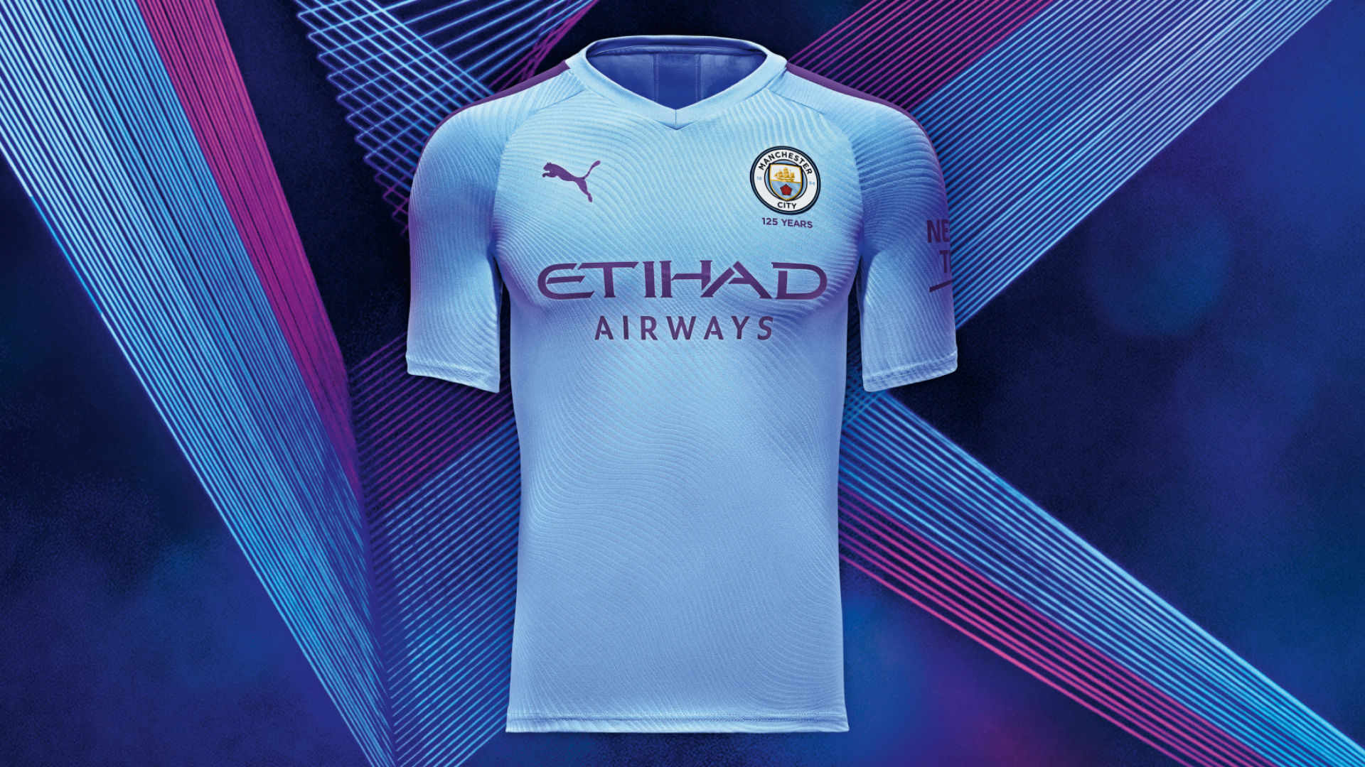 sale retailer 621f1 264f2 Man City kits 2019-20: Treble winners reveal 125-year ...
