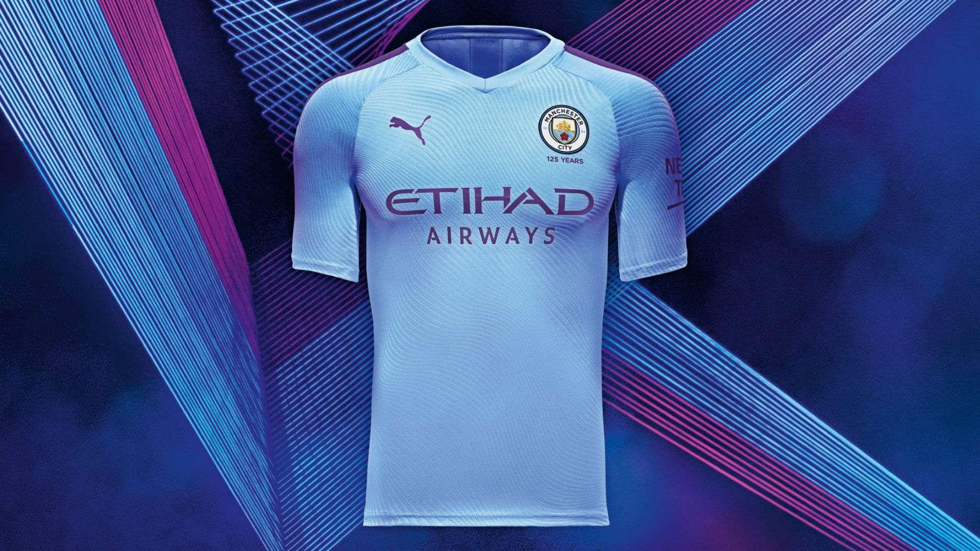 Man City kits 2019-20: Treble winners reveal 125-year anniversary