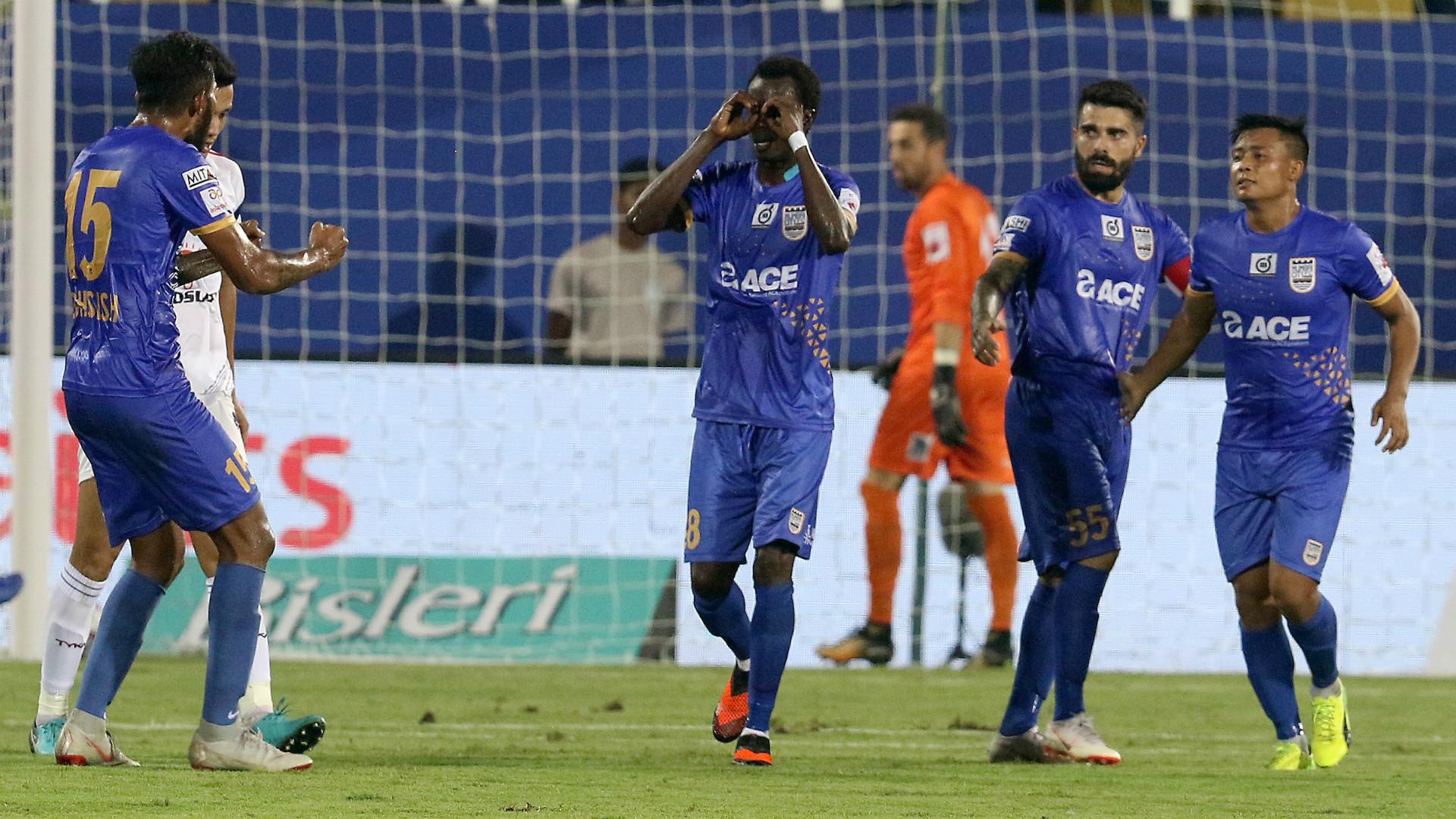 Mumbai City FC Delhi Dynamos ISL 5 10272018