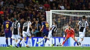 Lionel Messi Gianluigi Buffon Gol Barcelona Juventus Champions League 12092017