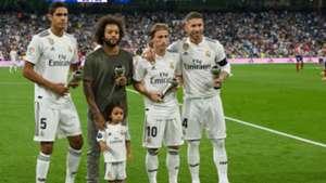 Real Madrid Modric Varane Marcelo Ramos 2018