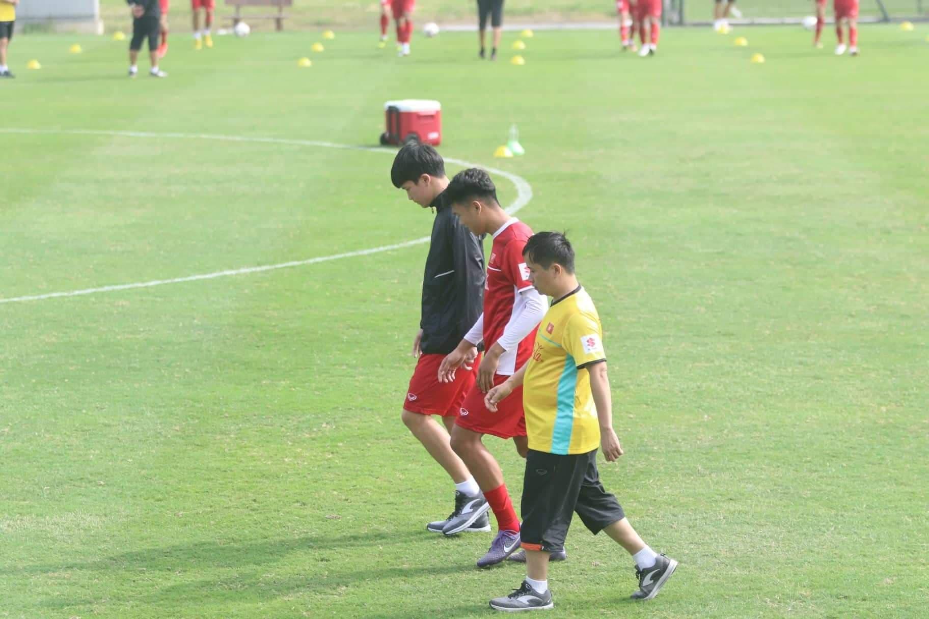 Hoang Duc Vietnam training Asian Cup 2019