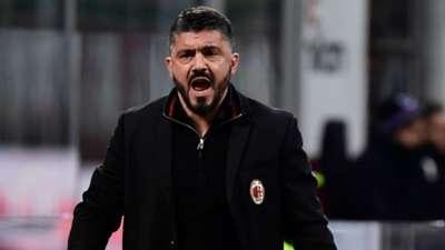 Gennaro Gattuso Milan Sampdoria