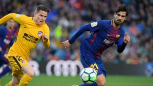Kevin Gameiro Andre Gomes Barcelona Atletico Madrid La Liga