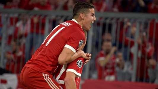 Bayern Munich Real Madrid James Rodriguez 250418