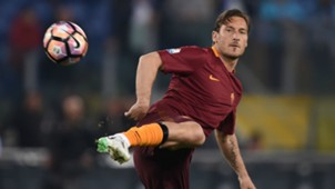 Francesco Totti Roma Coppa Italia 2016-17
