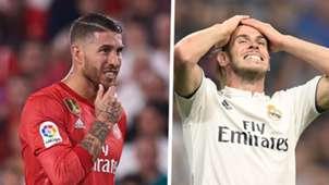 Sergio Ramos Gareth Bale Real Madrid