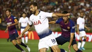 Fernando Llorente Tottenham Barcelona ICC 2018