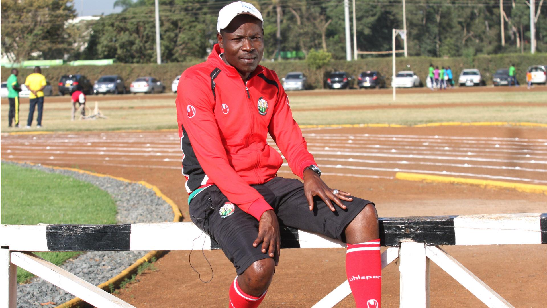 Harambee Stars head coach Stanley Okumbi.