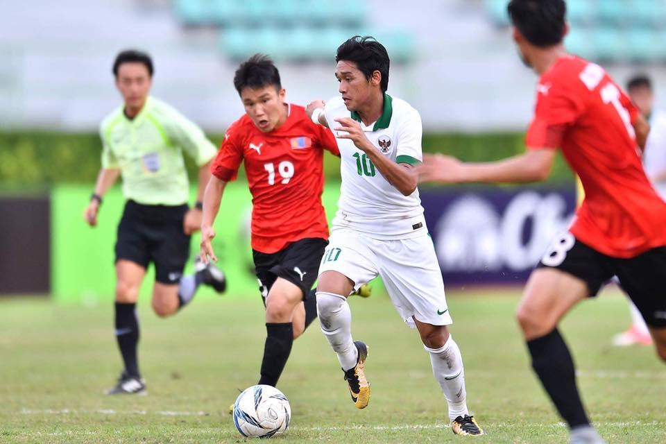 อินโดนีเซีย - มองโกเลีย U23