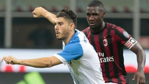 Cristian Zapata AC Milan vs Craiovia Europa League 03082017