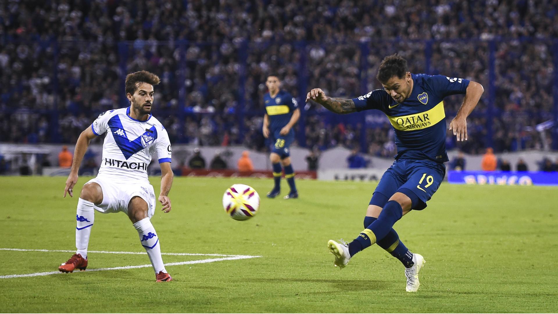 Mauro Zarate Agustin Bouzat Velez Boca Copa Superliga 12052019