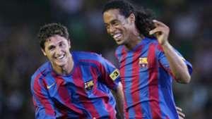 """Saviola place Ronaldinho tout en haut : """"Il faisait des choses impossibles pour les autres"""""""