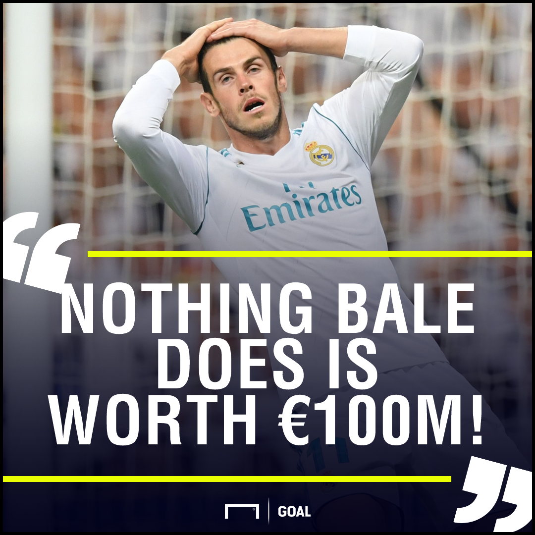 Gareth Bale not worth 100m Jorge Valdano