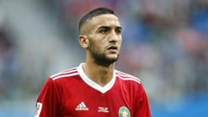 Hakim Ziyech, Morocco - Iran, FIFA World Cup 06152018