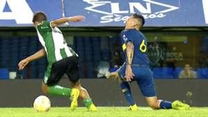 captura tv Gaston Avila Boca Juniors Banfield Reserva Superliga 29032019