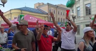 Aficionados de Irán an Kazán